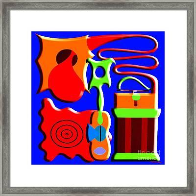 Playing Music Framed Print by Patrick J Murphy
