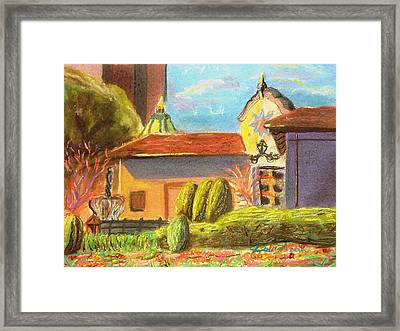 Plaza View From Canal Framed Print by Darya Tyshlek