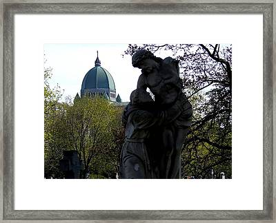 Pleading With Jesus Framed Print by Robert Knight