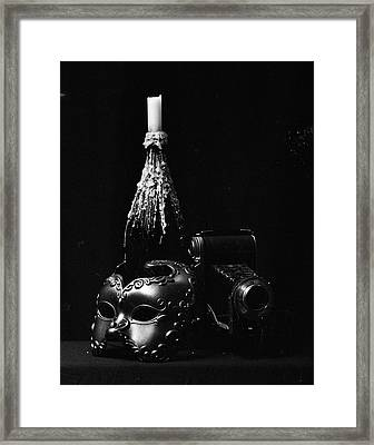 Pleasure And Its Companion II Framed Print by Marcio Faustino