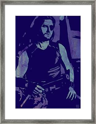 Plissken Framed Print by Giuseppe Cristiano