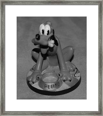 Pluto Framed Print by Rob Hans