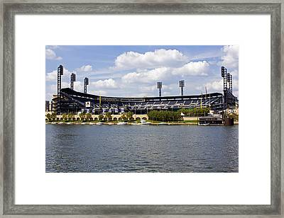 Pnc Park Pittsburgh Pa Framed Print by Kristen Vota