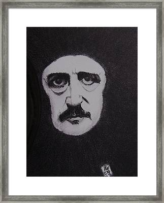 Poe Framed Print by Nick Young