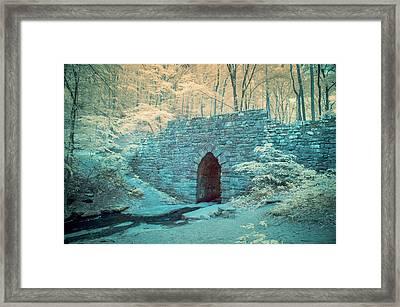 Poinsett Bridge-ir-1 Framed Print by Joye Ardyn Durham