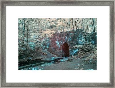 Poinsett Bridge-ir-4 Framed Print by Joye Ardyn Durham