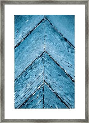 Points Up Framed Print by Karol Livote