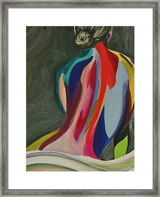 Poised Framed Print by Melissa Torres