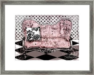 Poitrine Rose Framed Print by Mindy Sommers