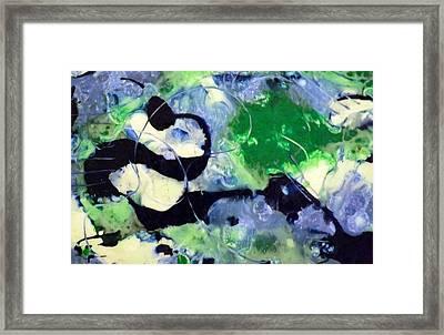 Pokey Panda Framed Print by Shelli Finch