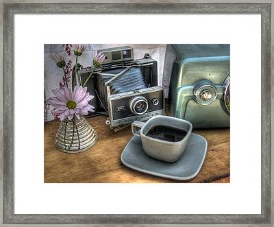 Polaroid Perceptions Framed Print by Jane Linders