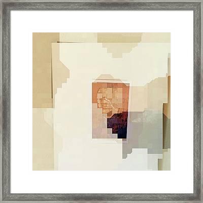 Polaroids Abstract 2 Framed Print by Carol Leigh