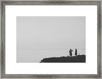 Polente Lighthouse Framed Print by Ilker Goksen