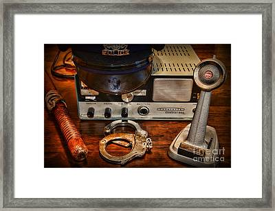 Police - The Police Dispatcher Framed Print by Paul Ward