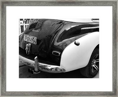 Polished To Shine Framed Print by Connie Handscomb