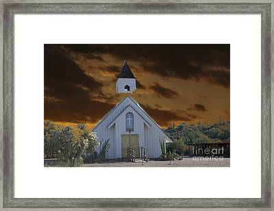 Political Correctness Choking The Church Framed Print by Beverly Guilliams