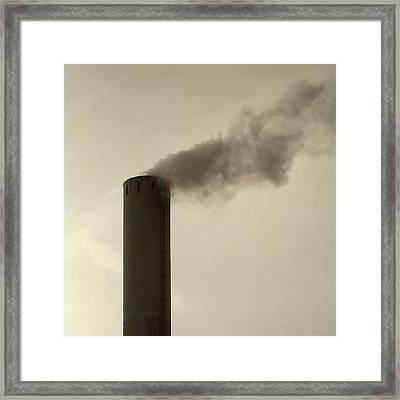 Pollution Framed Print by Wim Lanclus