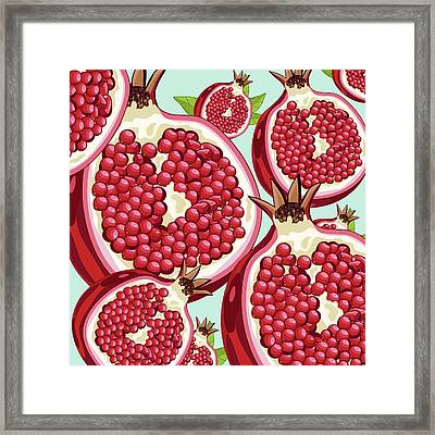 Pomegranate   Framed Print by Mark Ashkenazi