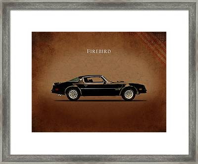 Pontiac Firebird Framed Print by Mark Rogan