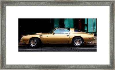 Pontiac Trans Am Framed Print by Andrew Fare