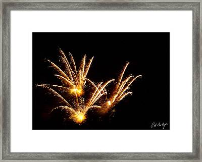 Poof Framed Print by Phill Doherty