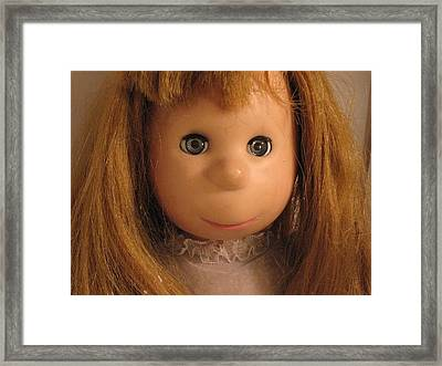 Poor Pitiful Pearl Framed Print by Susie DeZarn