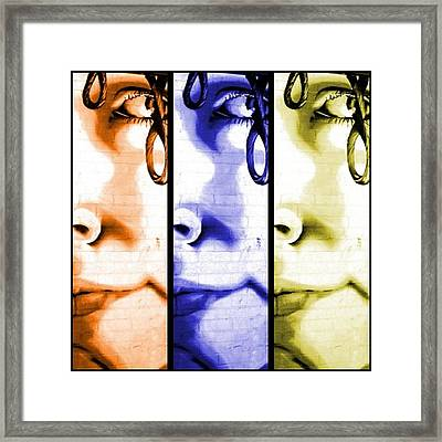 Pop Art Framed Print by Cat Jackson