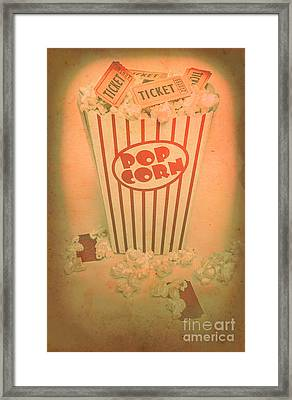 Pop Art Theatre Framed Print by Jorgo Photography - Wall Art Gallery