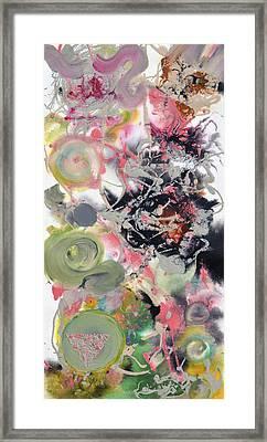 Pop Fluid No 7 Framed Print by Sumit Mehndiratta