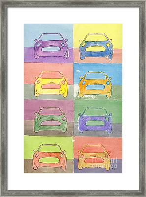 Pop Goes The Mini Framed Print by Michelle Reeve