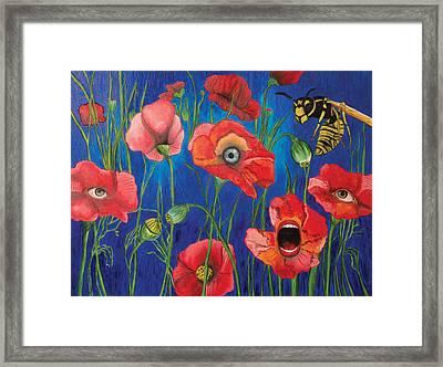 Poppies Framed Print by John Alekseev