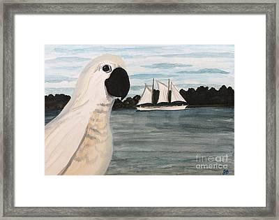 Popular Pretty Pearl Framed Print by Joy Borsavage