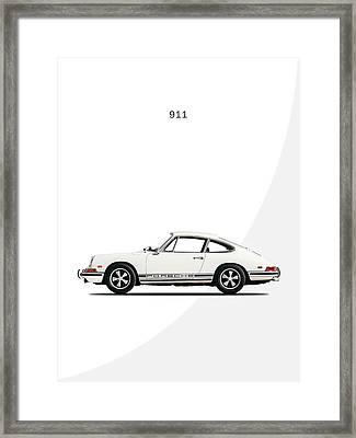 Porsche 911 68 Framed Print by Mark Rogan