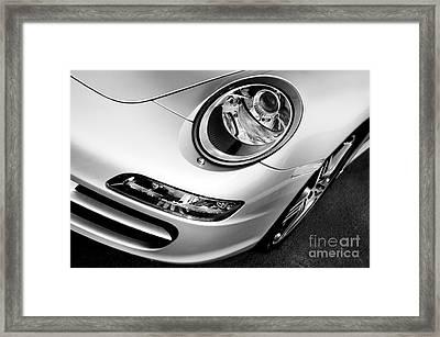 Porsche 911 Black And White Framed Print by Paul Velgos