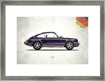 Porsche 911 Framed Print by Mark Rogan