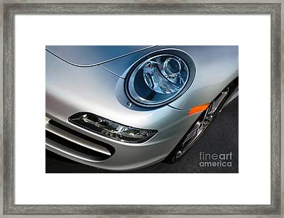 Porsche 911 Framed Print by Paul Velgos