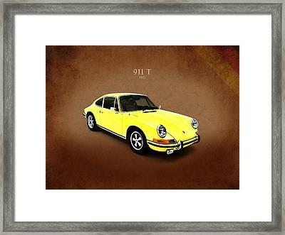 Porsche 911 T 1971 Framed Print by Mark Rogan