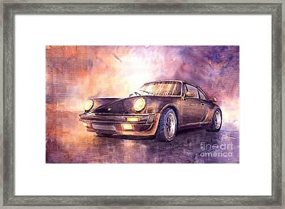 Porsche 911 Turbo 1979 Framed Print by Yuriy  Shevchuk