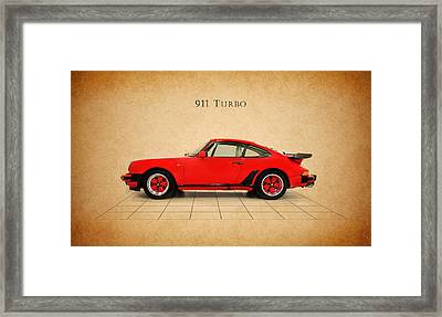 Porsche 911 Turbo 1985 Framed Print by Mark Rogan