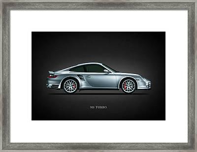 Porsche 911 Turbo Framed Print by Mark Rogan