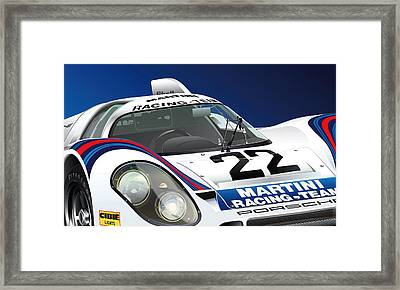 Porsche 917k Framed Print by Alain Jamar