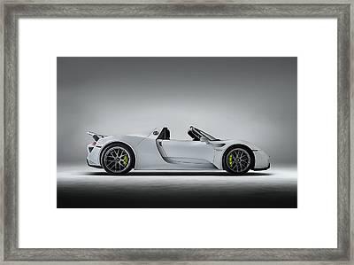 Porsche 918 Spyder Framed Print by Douglas Pittman