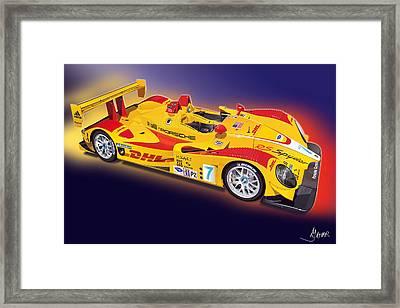 porsche RS Spyder Framed Print by Alain Jamar