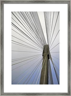 Port Mann Bridge Framed Print by Pelo Blanco Photo