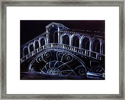 Porta D'acqua - Arte Moderna E Contemporanea Di Venezia Framed Print by Arte Venezia