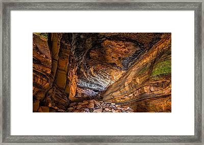 Portal Framed Print by Joseph Smith