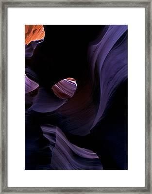 Portal Framed Print by Mike  Dawson