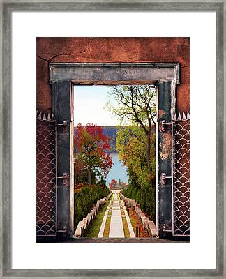 Portal To Autumn Framed Print by Jessica Jenney