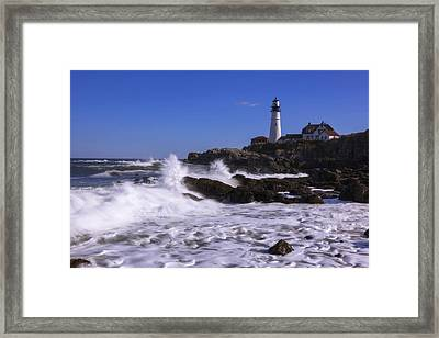 Portland Head Light I Framed Print by Chad Dutson