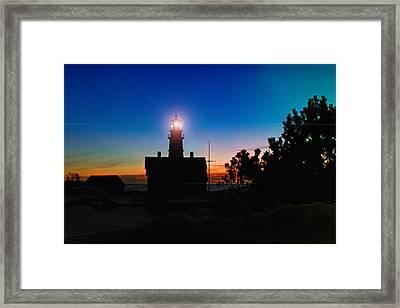 Portland Head Light - Maine Framed Print by Joann Vitali